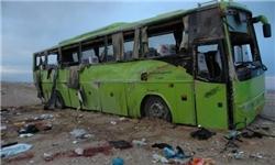 ساحه برای دو اتوبوس در جاده قم و مشهد/ یک کشته و 3 زخمی