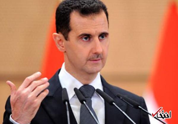 پیام بشار اسد به رهبر معظم انقلاب: مردم ایران را که همراه ما در جنگ علیه تروریسم خون تقدیم نمود، در پیروزی شکست محاصره شهر دیرالزور شریک میدانیم