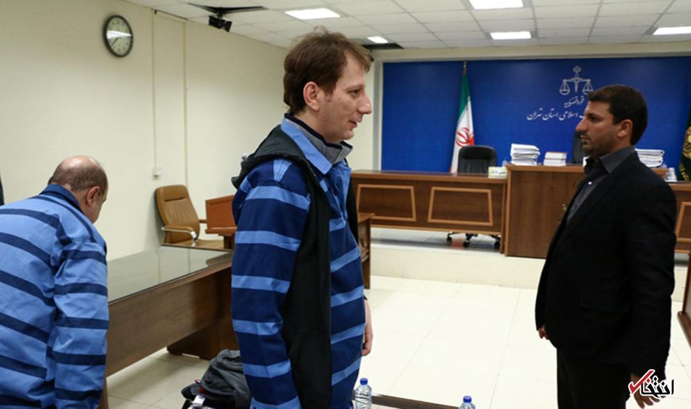 نصاویر/ حضور بابک زنجانی در دادگاه همدستانش
