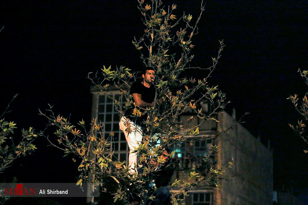 قاتل آتنا اصلانی در ملاءعام اعدام شد +تصاویر