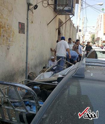 انفجار در مقابل حرم حضرت معصومه (س) در قم با ۲ کشته و ۱۱ مجروح +عکس