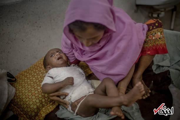 تصاویر : مسلمانان روهینگیای در آتش سوخته