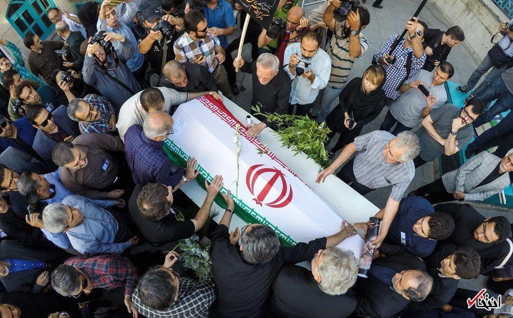تصاویر : تشییع پیکر مرحوم ابراهیم یزدی