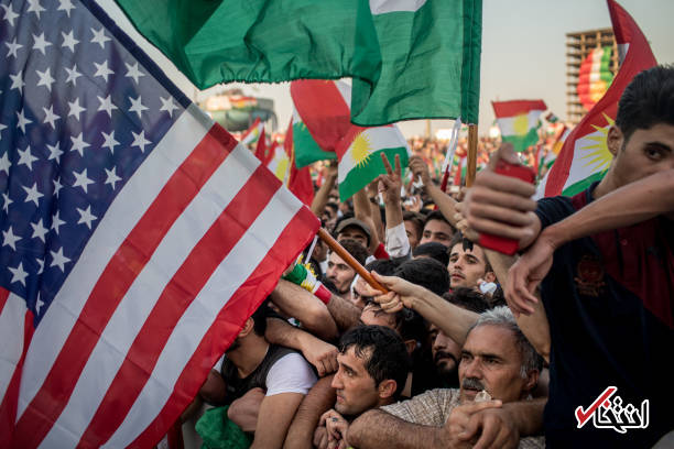 تصاویر : حاشیههای اجتماع بزرگ همه پرسی در کردستان عراق؛