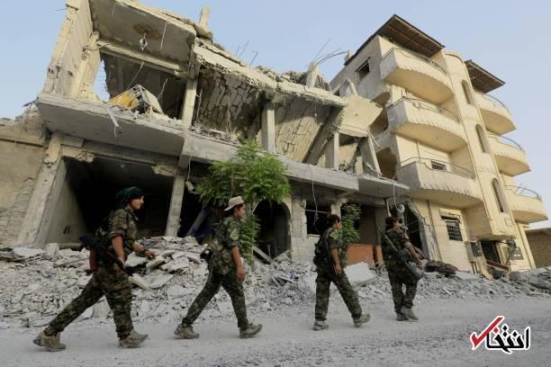تصاویر : دختران کُرد در عملیات آزادسازی رقه از دست داعش