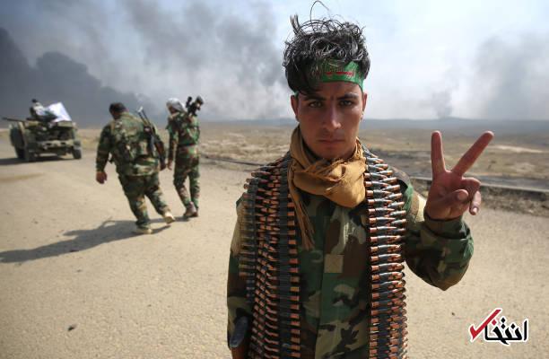 تصاویر : نیروهای الحشد الشعبی در عملیات آزادسازی الحویجه