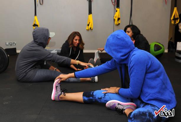 عکس/ باشگاه تناسب اندام زنان در عربستان