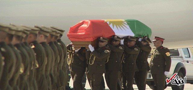 پیکر جلال طالبانی به خاک سپرده شد