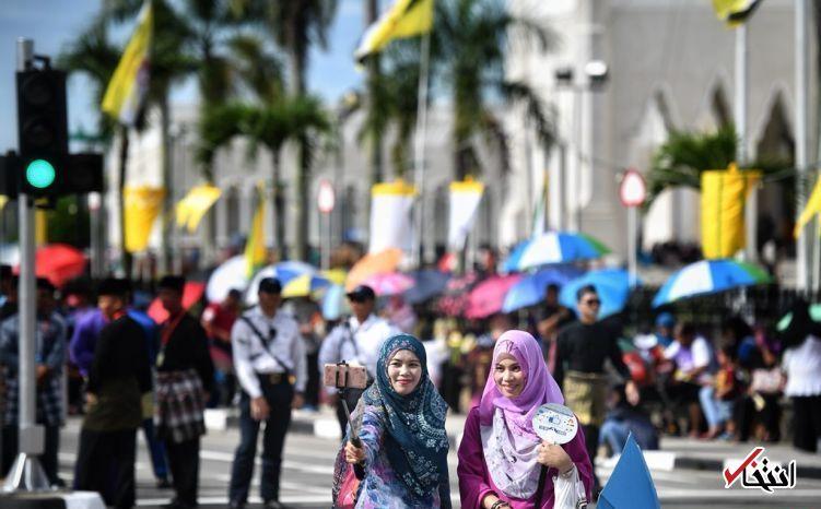 تصاویر : جشن پنجاهمین سال سلطنت پادشاه ثروتمند برونئی