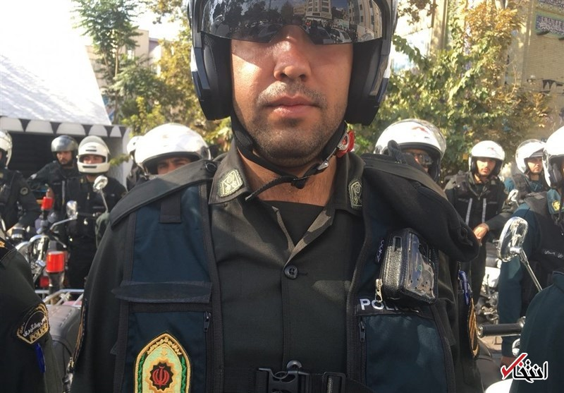 پلیس تهران به لباسهای دوربیندار مجهز شد +عکس