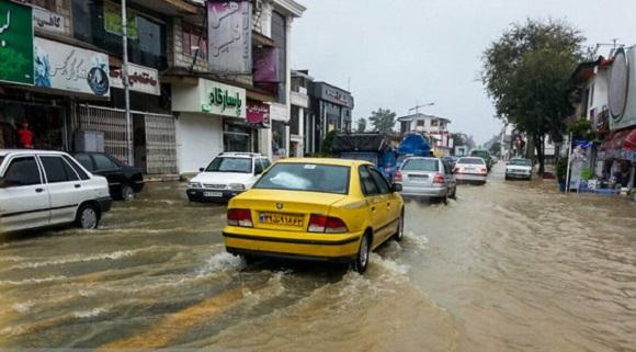 تداوم فعالیت سامانه بارشی در برخی نقاط کشور