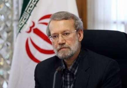 لاریجانی با اشاره به اظهارات ترامپ؛ هیچ اضطرابی در مسوولین ایران وجود ندارد