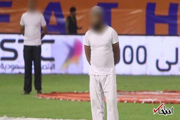 نتیجه تصویری برای اتفاقی عجیب در لیگ عربستان + عکس