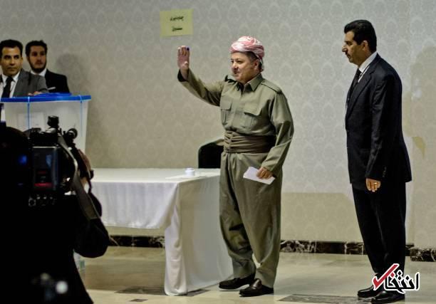 تصاویر : حاشیههای برگزاری همه پرسی تجزیه عراق در کردستان