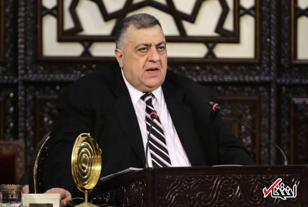 عکس/ انتخاب رییس جدید مجلس سوریه