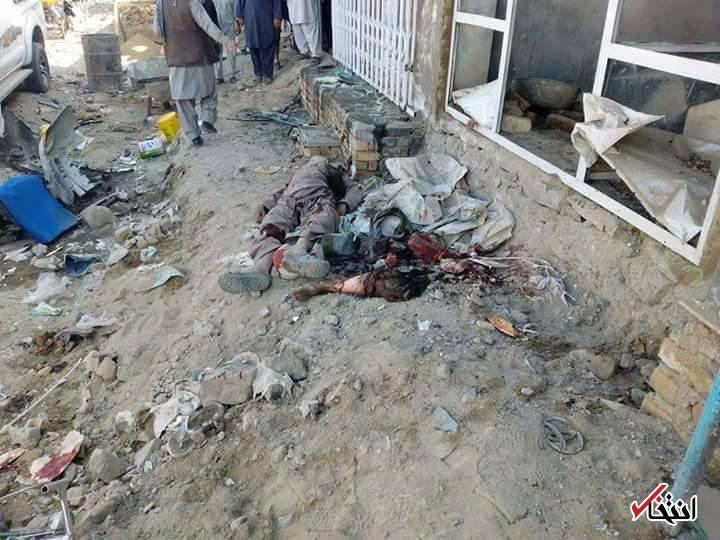 عکس/ حمله انتحاری به حسینیه شیعیان کابل با گوسفند