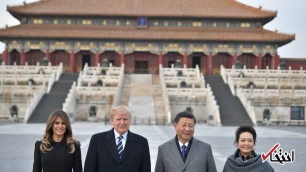 تصاویر : استقبال رییس جمهور چین از ترامپ در شهر ممنوعه