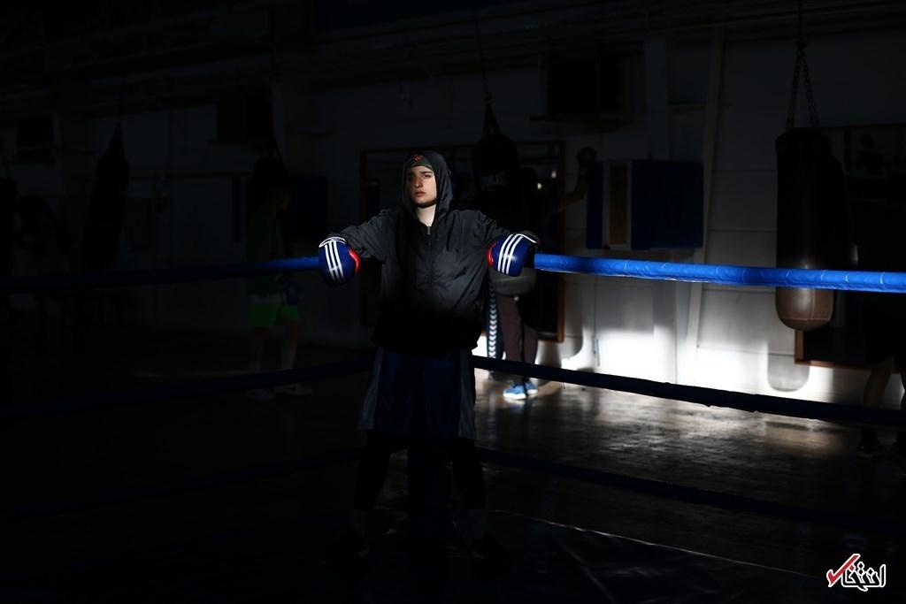 تصاویر : زینب، حافظ قرآنی که میخواهد قهرمان بوکس شود