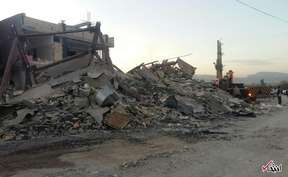 تصاویر : زلزله در سرپل ذهاب و قصرشیرین