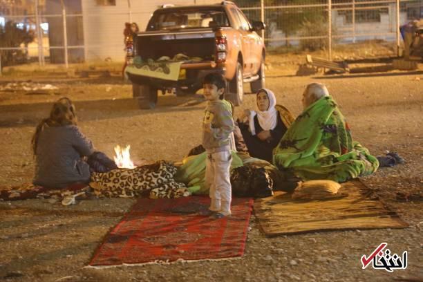 تصاویر : وضعیت سلیمانیه عراق در پی وقوع زلزله