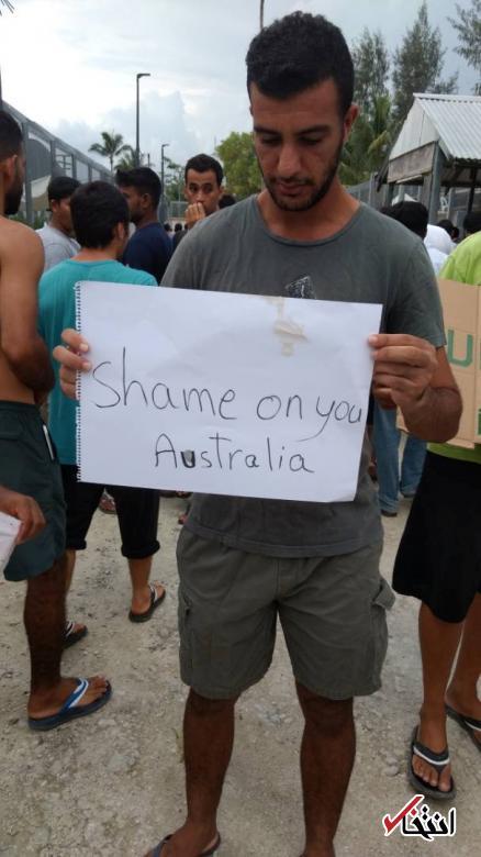 تصاویر : بحران در اردوگاه پناهجویان مانوس