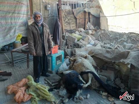 آبشرب داخل منازل مناطق زلزله زده وجود دارد؛ ساکنان نه!