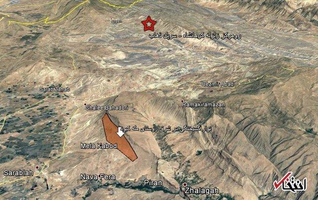نتیجه زلزله استان کرمانشاه: ایجاد پرتگاهی با ارتفاع 3 متر؛ طول 4 کیلومتر و عرض یک کیلومتر/ این اتفاق در زلزه های پیشین کشور نادر است