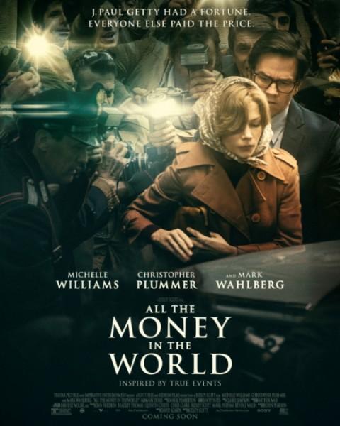 پوستر «تمام پول های جهان» با حذف نام و تصویر کوین اسپیسی منتشر شد