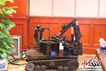 چین ربات خنثیکننده بمب ساخت