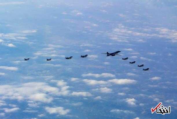 اخبار سینمای ایران     پرواز بمب افکن و جنگندههای آمریکا بر فراز شبه جزیره کره عکس