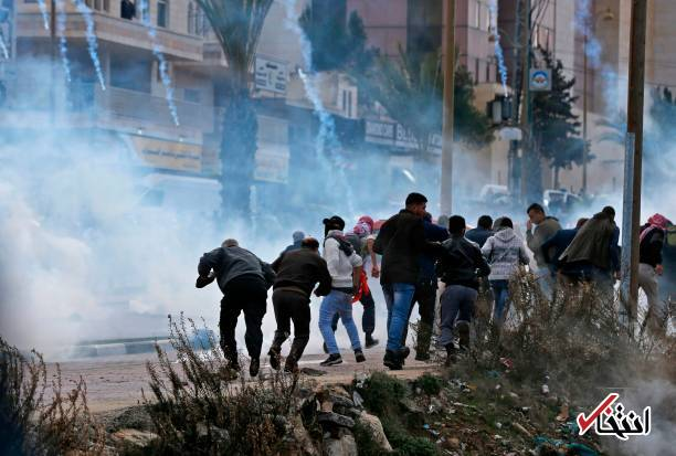 تصاویر: درگیری شدید بین نظامیان صهیونیست و جوانان فلسطینی
