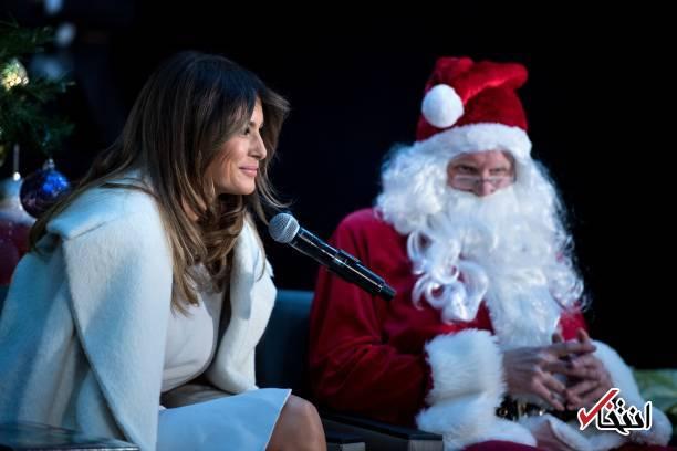 تصاویر : همسر دونالد ترامپ