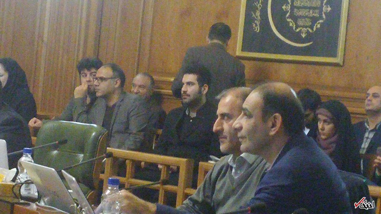 حضور غیرمنتظره وزیر راه احمدینژاد در جلسه شورای شهر +عکس