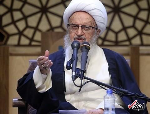 آیت الله مکارم شیرازی: شخصی به رهبر انقلاب نامه ای نوشته و مملکت را به صورت ویرانه معرفی کرده / سیاه نمایی افتخار نیست