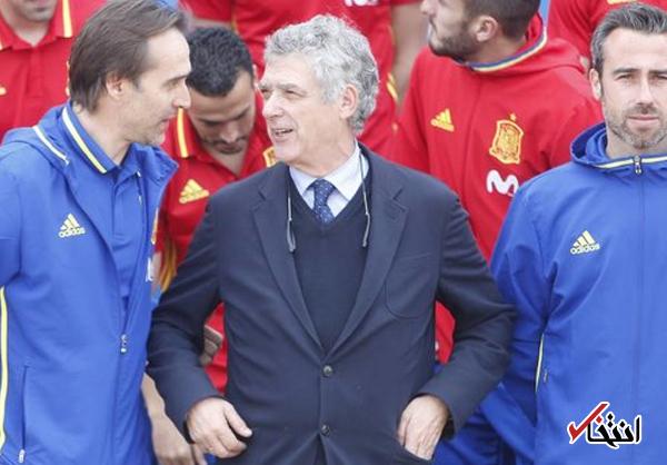 فیفا اسپانیا را به اخراج از جام جهانی تهدید کرد