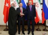 پیچیدگی های سخنان پوتین در سوچی، اشاره ی روحانی به اردوغان و نگاه روس ها به ایران و ترکیه در ماجرای سوریه