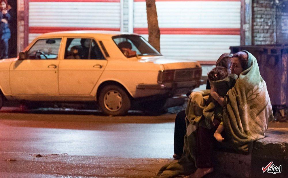 تصاویر : وقتی تهران لرزید