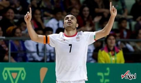 حسنزاده برای سویمن سال متوالی بازیکن سال فوتسال آسیا شد