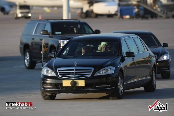 عکس/ اسکورت روحانی و پوتین در فرودگاه آنکارا