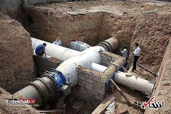 آب انتقالی به استان یزد قطع شد