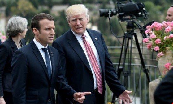 ماندن یا نماندن نیروهای آمریکا در سوریه/ماکرون: ترامپ را قانع به ماندن کردم