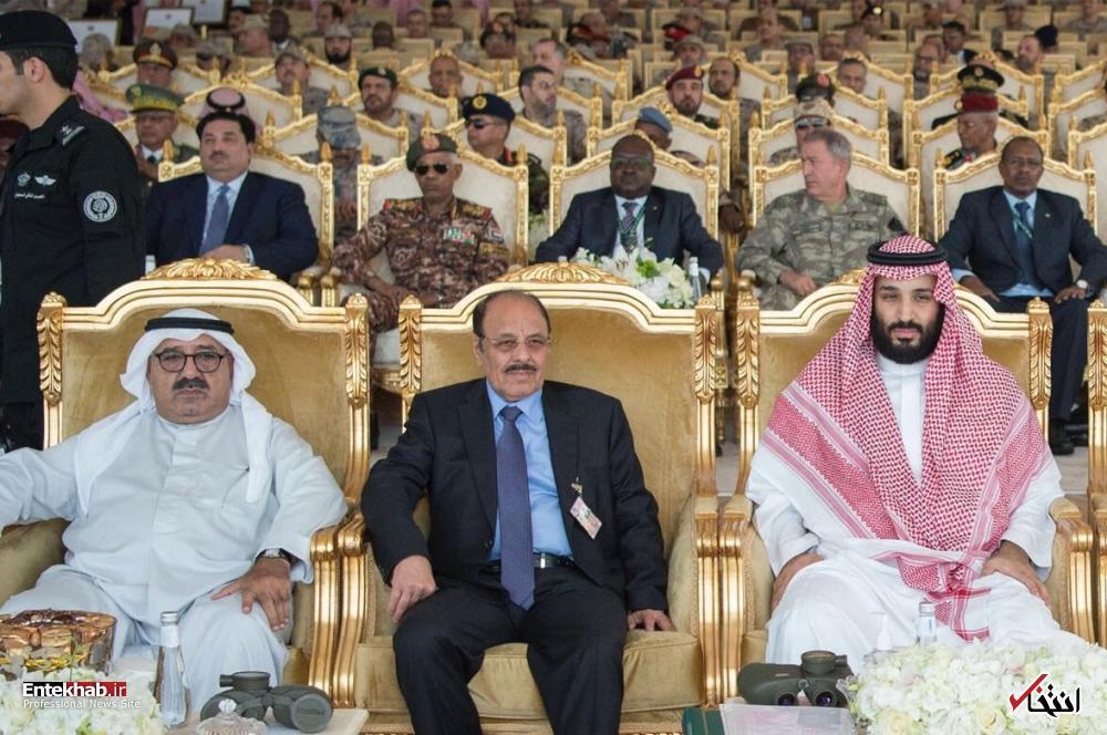 تصاویر : رزمایش سپر خلیج فارس با حضور رهبران عرب در عربستان