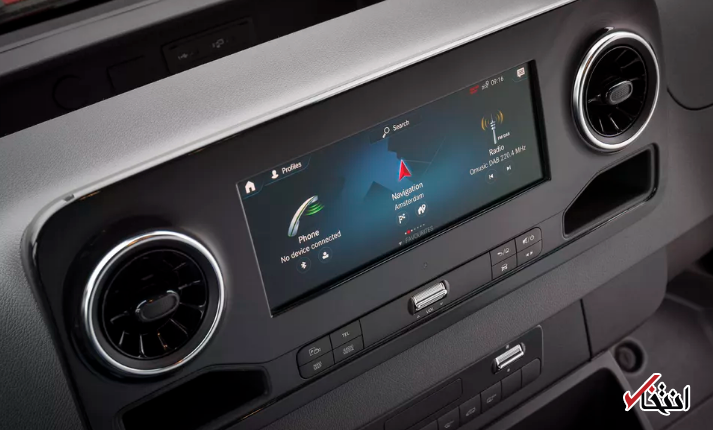 نسل جدید مرسدس بنز اسپرینتر در راه جاده ها/همگام سازی با فرامین صوتی کاربر / انعطاف پذیری خیره کننده