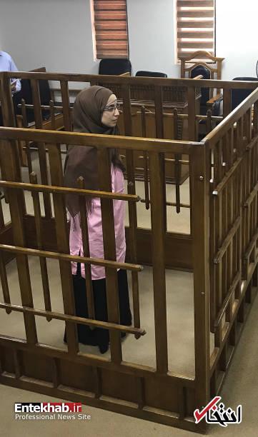 عکس/ محاکمه زنان عضو داعش در دادگاه بغداد