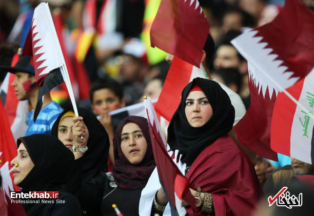 تصاویر : تماشاگران دیدار عراق و قطر در نخستین مسابقه بینالمللی در عراق پس از لغو ممنوعیت میزبانی