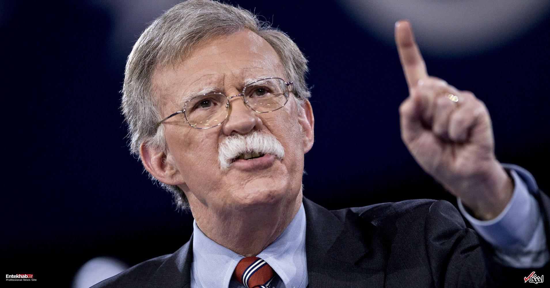 رازهای ناگفته کمپین جان بولتون برای به راه انداختن جنگ با ایران
