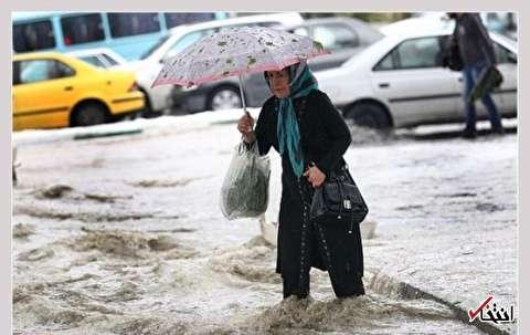 اطلاعیه سازمان هواشناسی درباره رگبار باران و وزش باد شدید / فردا؛ بارش برف در ارتفاعات تهران