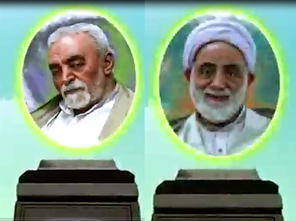اتفاقی عجیب در تلویزیون / پخش تصاویر حجتالاسلام قرائتی و عسگراولادی در میان تصاویر ارسالی کودکان متولد دی +ویدیو
