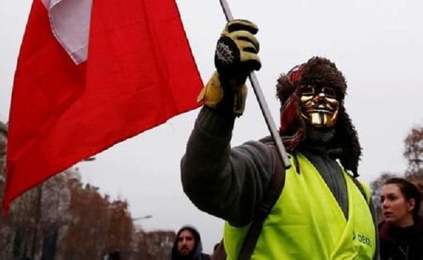 اعتراضات،جليقه،افزايش،اجتماعي،فرانسه