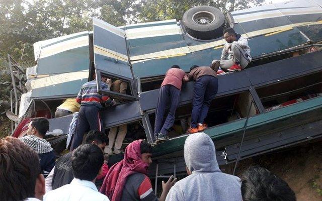قربانيان،هند،اتوبوس،حادثه،رانندگي